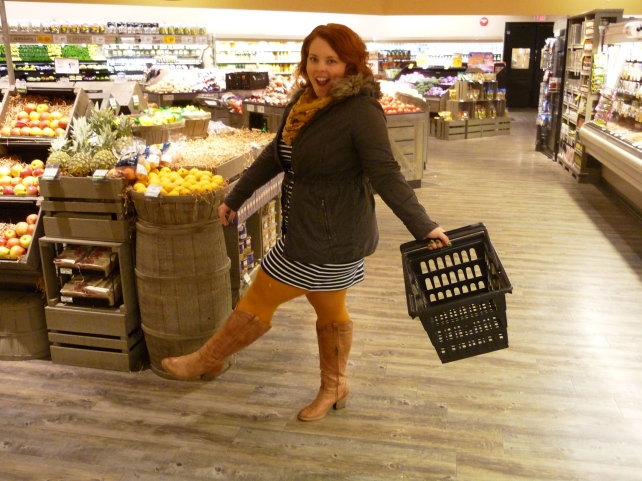 I don't usually carry the basket, this is just for show ;)