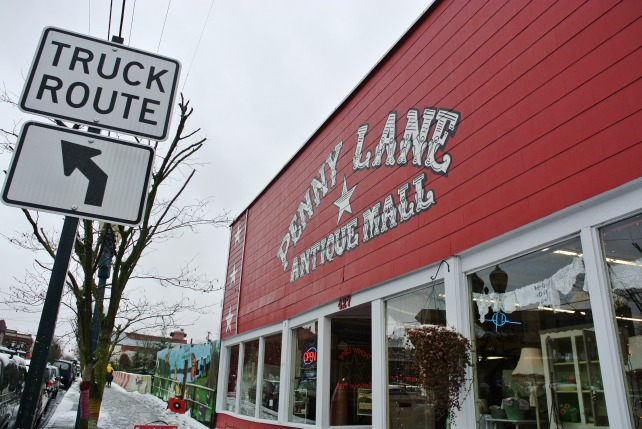 Next up: the Penny Lane antique mall.  Love it!