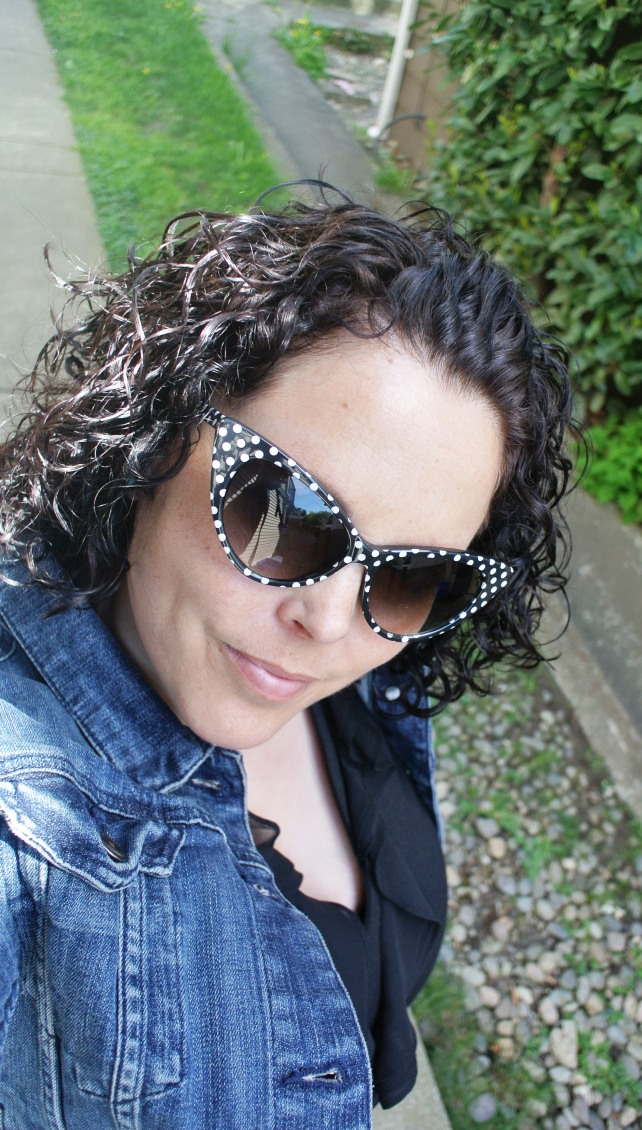 I got these polk-a-dot sunnies off of amazon on the cheap, and I love them!  Perfect for funning up an outfit.