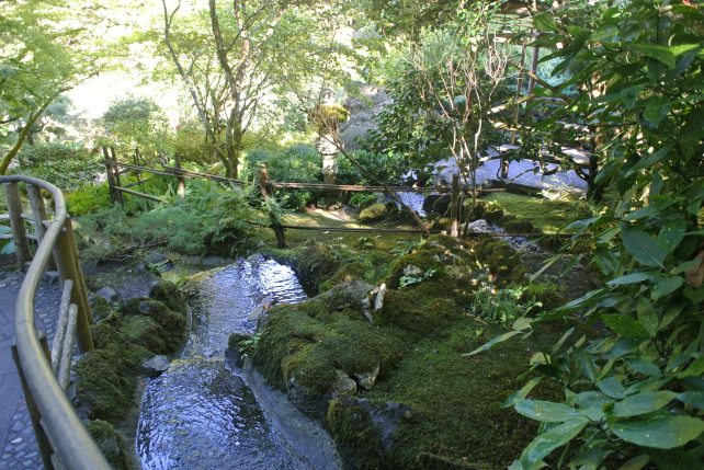 Japanese Gardens in Butchart Gardens, Vancouver Island