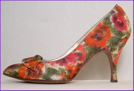 floral pumps 3