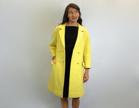 60s coat, medium