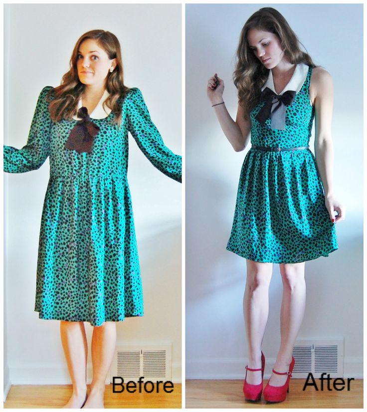 Переделать старое платье своими руками