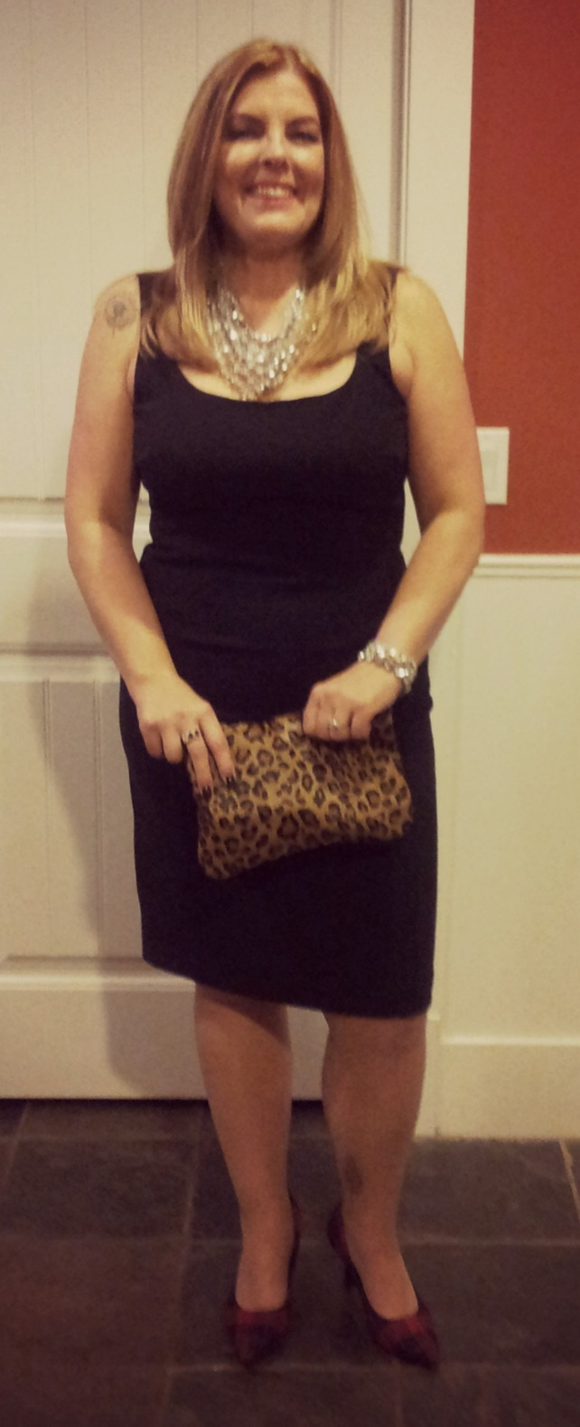 This past Christmas.  Yes, your fifties can be this foxy!