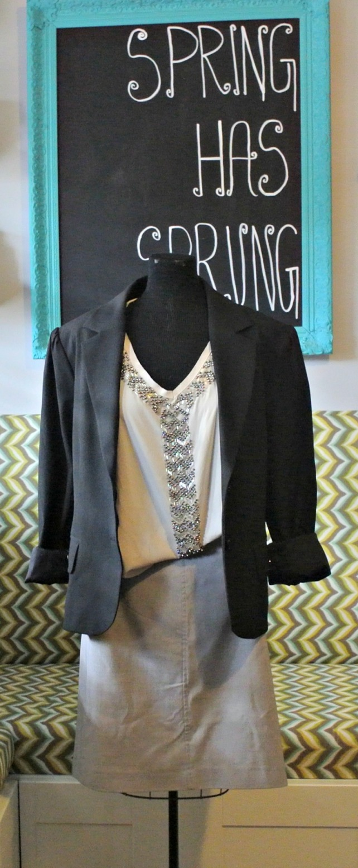 black pinstripe jacket 2