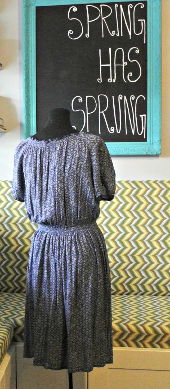 blue peasant dress 2