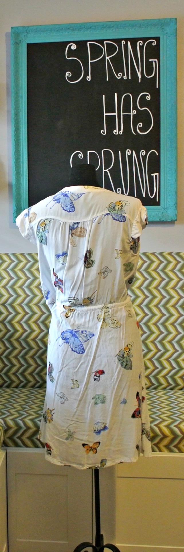 butterfly dress 2