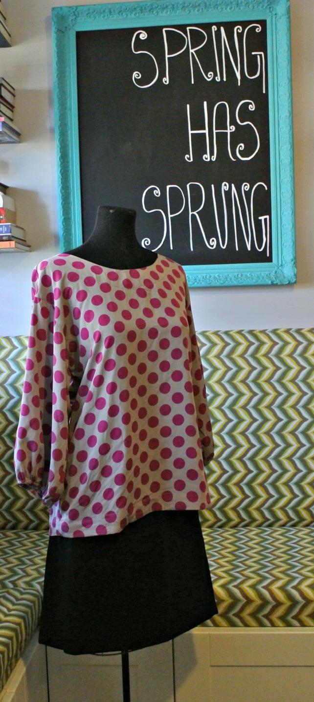polka dot shirt 2