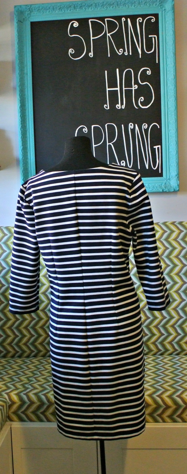stripe dress 1
