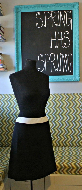 stripe skirt 1