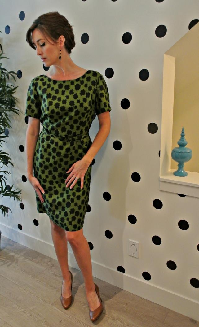 green spot dress 1