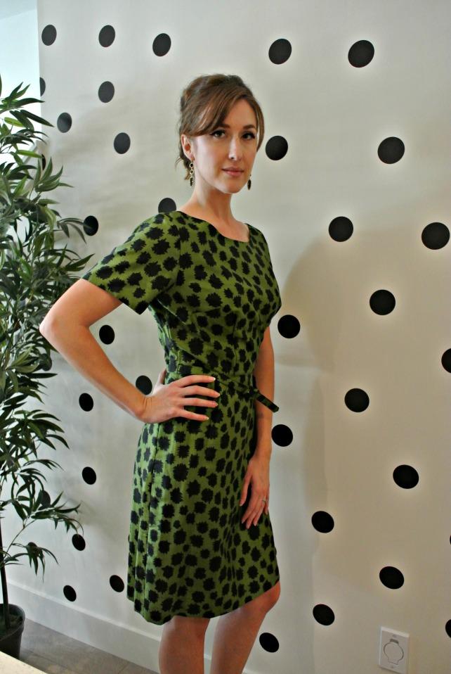 green spot dress 2