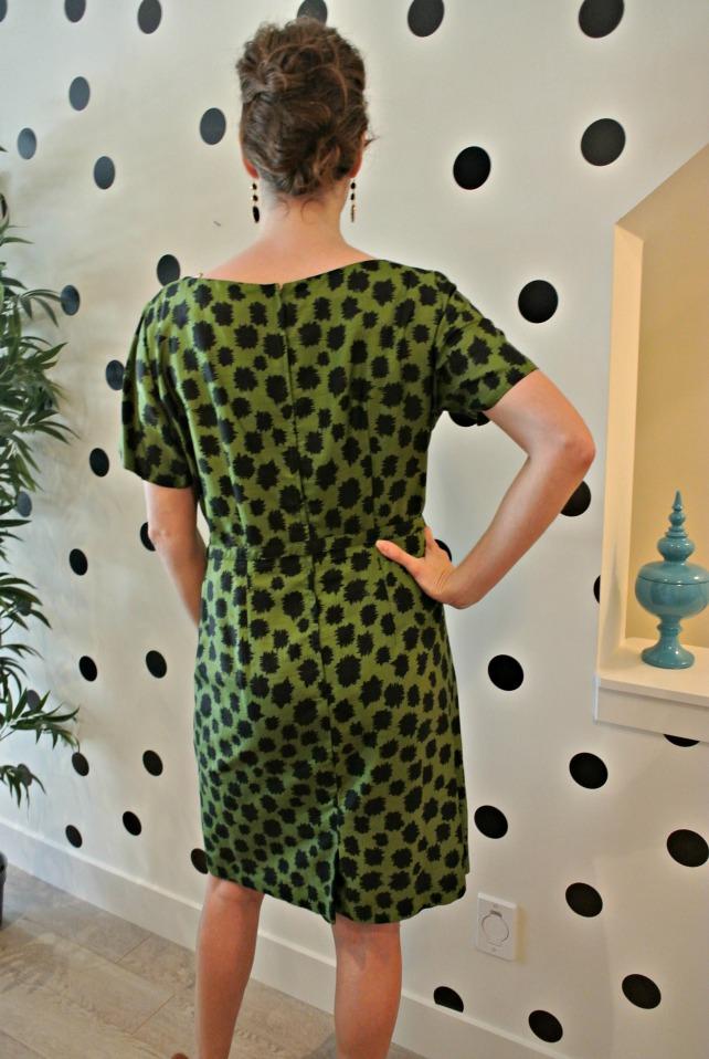 green spot dress 3