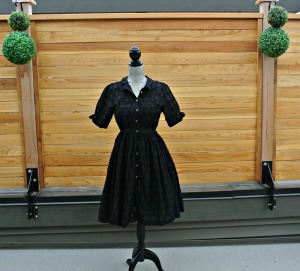 sc black anthro dress