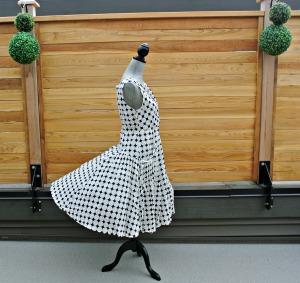 sc dots dress
