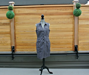 sc grey dress